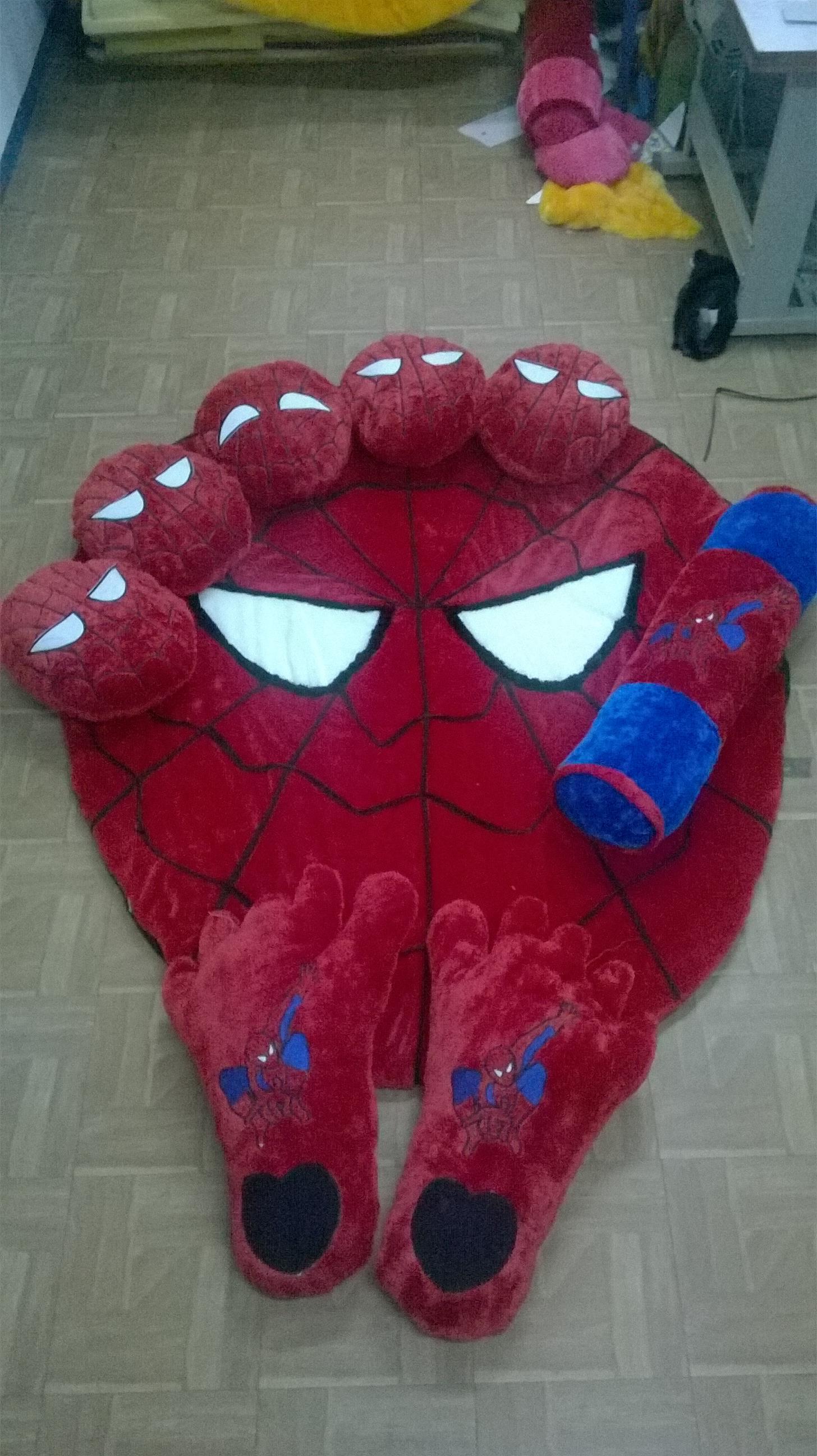 Jual Karpet Set Karakter Motif Spiderman Harga Murah