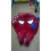 Jual Karpet Set Karakter Motif Spiderman