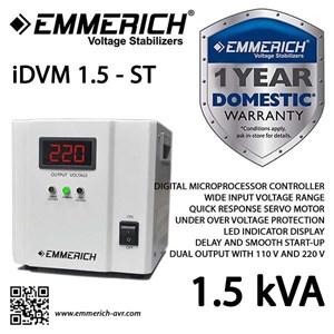 Stabilizer Emmerich Idvm 1.5 Kva - 1 Phase