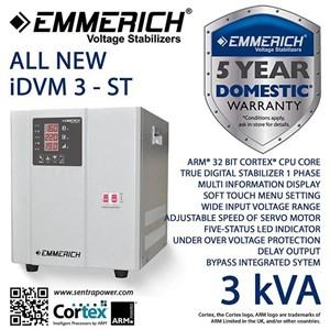 Stabilizer Emmerich All New Idvm 3-St - 3000 Va / 3 Kva