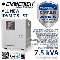 Stabilizer Emmerich All New Idvm 7.5-St  7500 Va / 7.5 Kva 1