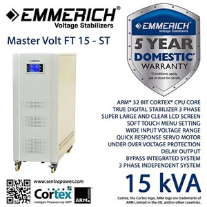 Stabilizer Master Volt 15-St 3 Phase