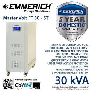 Stabilizer Emmerich Master Volt Ft 30-St 3 Phase