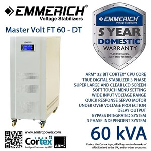 Stabilizer Emmerich Master Volt Ft 60-Dt 3 Phase
