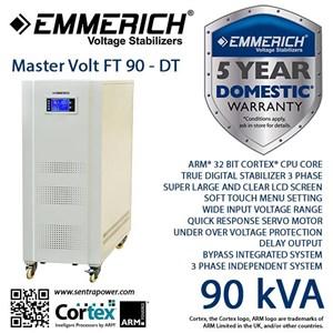 Stabilizer Emmerich Master Volt Ft 90-Dt 3 Phase