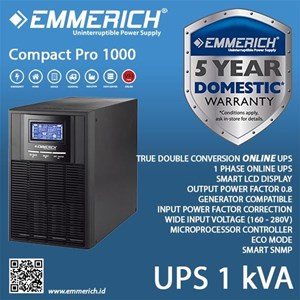 Ups Online Emmerich Type: Compact Pro 1000 - Cmp 1
