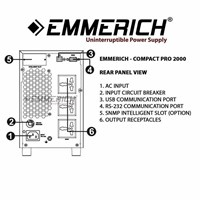 Jual Ups Online Emmerich - Compact Pro 2000 - 2 Kva - Ups Single Phase 2