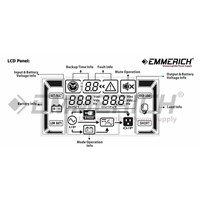 Distributor Ups Online Emmerich - Compact Pro 6000 - 6 Kva - Ups Single Phase 3