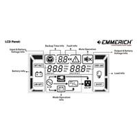 Distributor Online Ups Emmerich Master Pro 6 Kva - Built In Isolation Ups Transformer 3