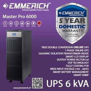 Online Ups Emmerich Master Pro 6 Kva - Built In Isolation Ups Transformer