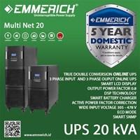 Online Ups Emmerich 3 Phase 20 Kva - Multi Net 20 1