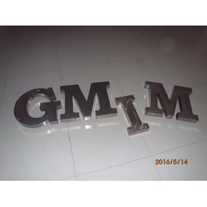 Huruf Timbul Letter Sign murah Manado By Satu Satu Media Advertising