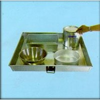 Square Pan /  Alat Laboratorium Umum 1