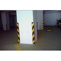 CORNER GUARD TYPE R06 / Rubber Wall Corner Protector / Alat Safety Lainnya 1