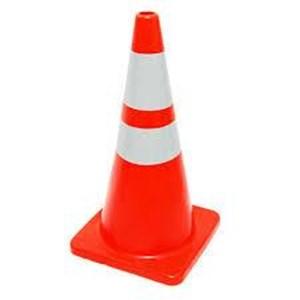 PVC cone / cone jalan /  Alat Safety Lainnya