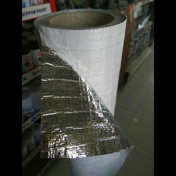 aluminium foil single /lapisan karung