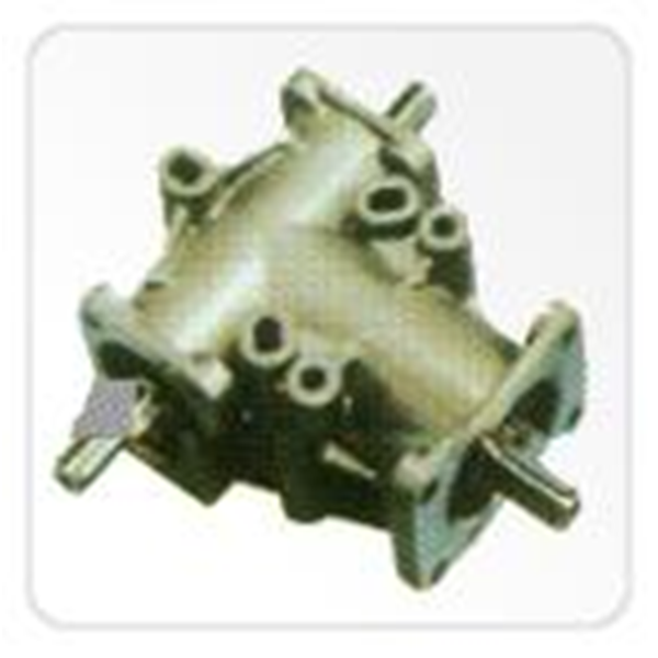 Bevel Gear Box Double Output Shafts