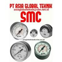 Jual Pengukur Tekanan Udara SMC R1/16 2
