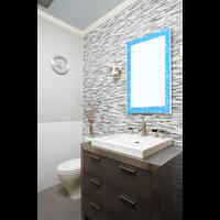 Wall mirror tipe sky small