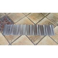 Spandek Alumunium Lebar 100 cm Kulit Jeruk