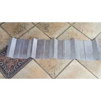 Spandek Alumunium 100 cm Kulit Jeruk