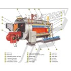 Natural Gas High Speed Diesel Or Heavy Fuel Oil Emo Boiler