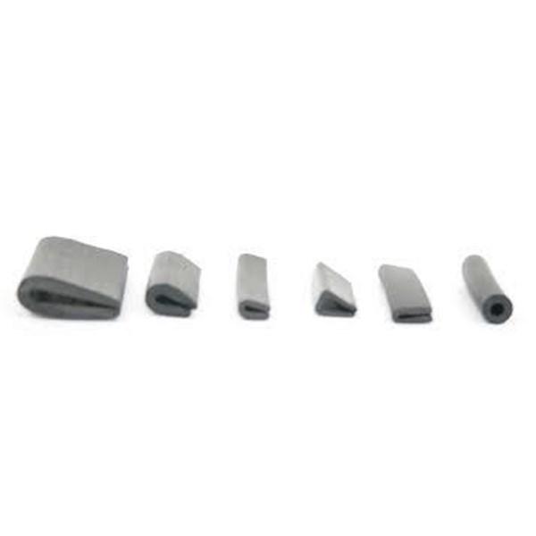 Rubber Trim U/ Clamp Glass