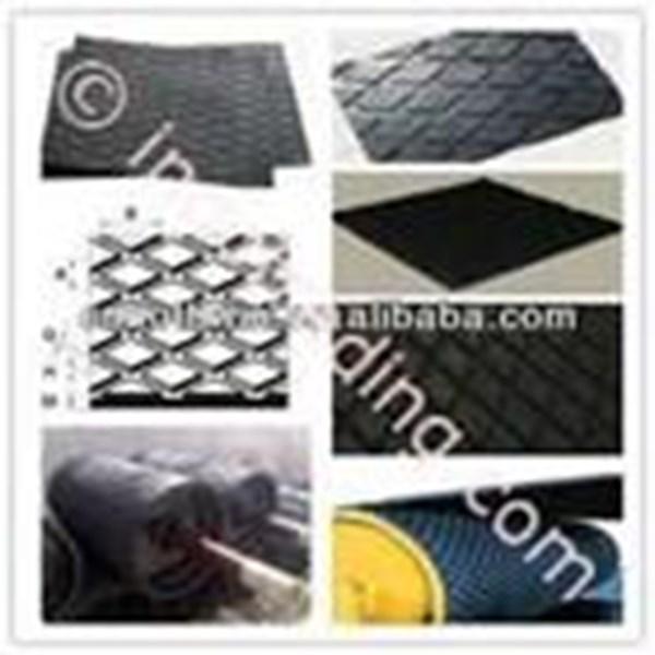 Diamond-Pattern Rubber Lagging