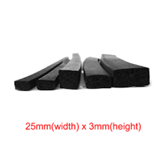 Rubber IP Sponge Gasket Square