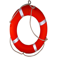 Ring Buoy Or Life Buoy
