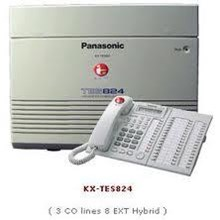 PABX PANASONIC KXTEM 824