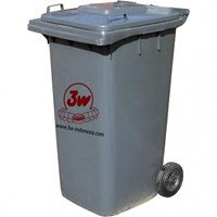 3W DUSTBIN 240 ltr (GREEN) / (GREY)
