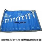 Kunci Pas 11-pc combination wrench set ( 8.9.10.11.12.13.14.15.17.19.22mm ) 1