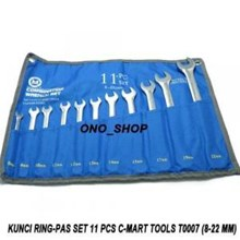 11-pc combination wrench