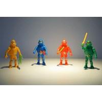 Mainan Plastik Robot kura  kura ninja