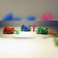 Mainan Plastik Moto Gp