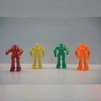 Mainan Plastik Robot Sentinel
