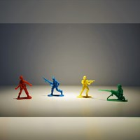 Mainan Plastik Tentara Kecil