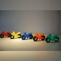 Mainan Plastik Motor Mini