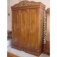 Jual Lamari Pakaian Pintu 3 Rahwana