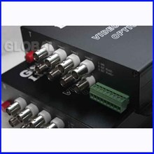 Fiber Optik - Analog CCTV Media Converter - 8 chan