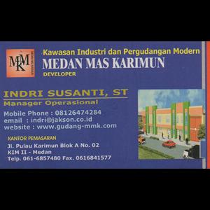 Kawasan Industri dan Pergudangan Modern By Medan Mas Karimun