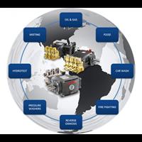 Distributor Pompa High Pressure 350 Bar - Plunger Hawk Pumps PX 3