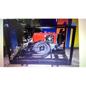 Pompa Hydrotest 500 bar - Produksi Pompa Hawk Tekanan Tinggi