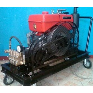 Pompa Water Jet 350 Bar - Alat Pembersih Boiler