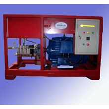 Pompa Hydrotest 500 Bar - Test Kebocoran Pipa Tekanan Tinggi
