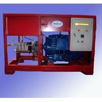 Pompa Hydrotest 350 Bar - Test Kebocoran Pipa Tekanan Tinggi