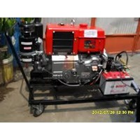 Pompa Hydrotest 350 bar - Dengan Penggerak Engine Yanmar Double stater Hydrotest Pump 1