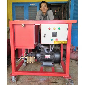 High Pressure Pompa Hydrotest 350 Bar - Uji Tekanan Tinggi