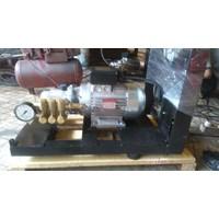 Pompa Hydrotest Listrik 100 Bar - Plunger Hawk Pump